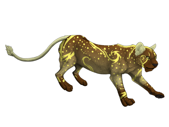 Lion adoptable by rigganmore