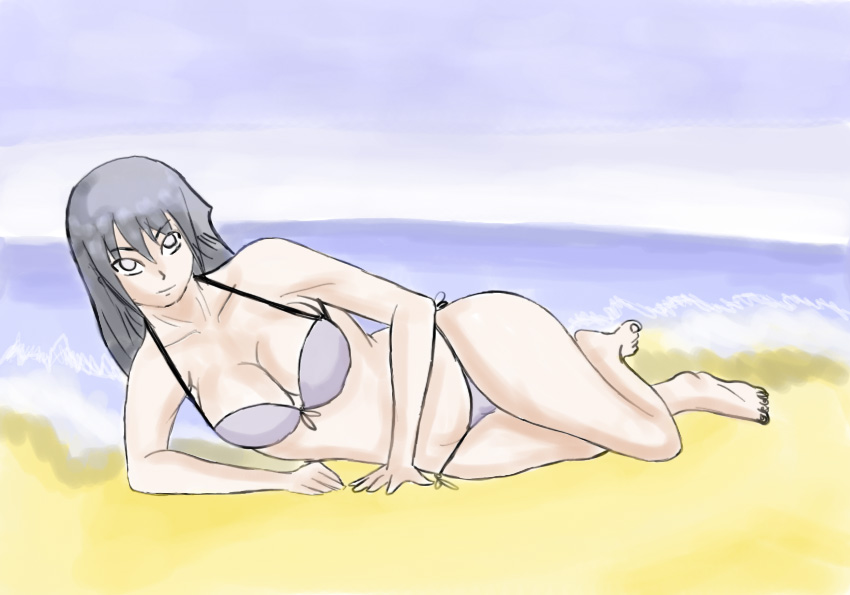 Hinata with bikini by NeroScottKennedy