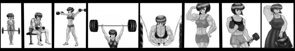 COMMISSION: Muscle Nabiki by NeroScottKennedy