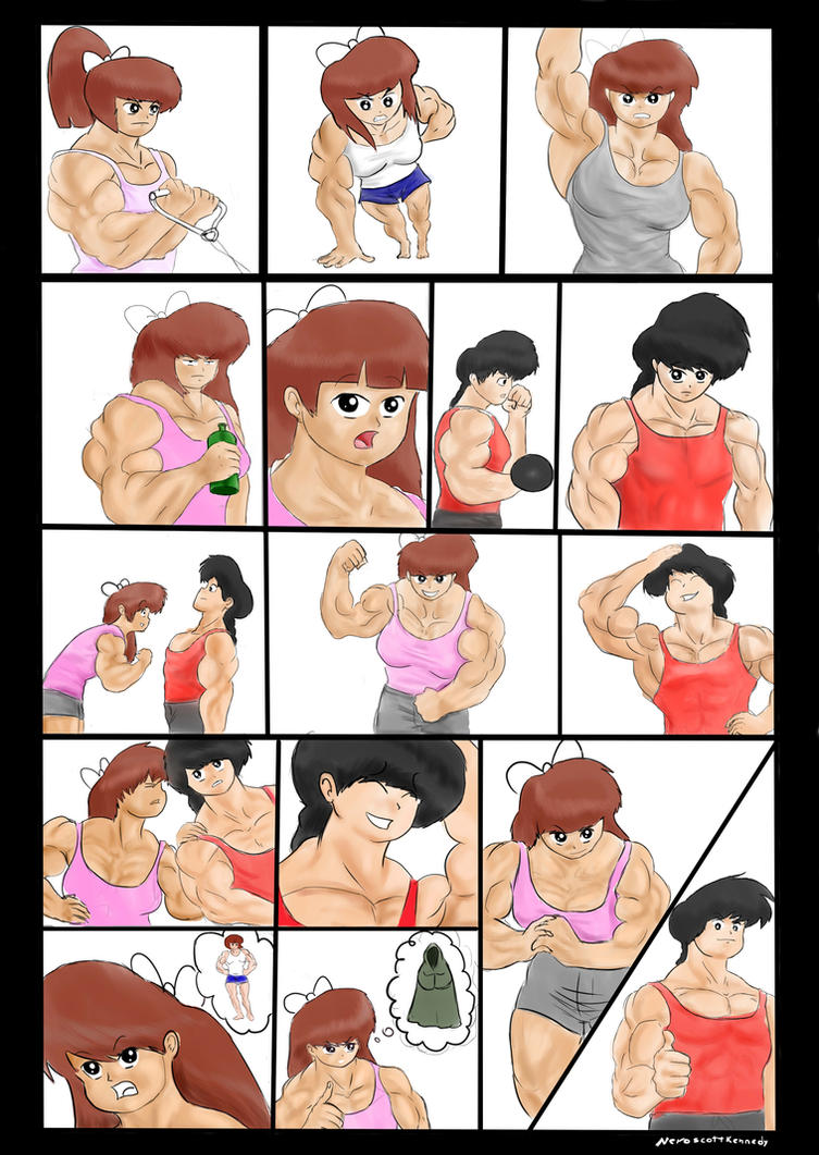 Muscle Nabiki Part 6 by NeroScottKennedy