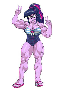 Muscular Twilight Sparkle