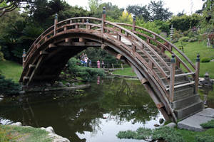 Japanese Bridge 1 by TOTGStock