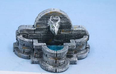 Dragonhead Water Fountain by Geoffryn