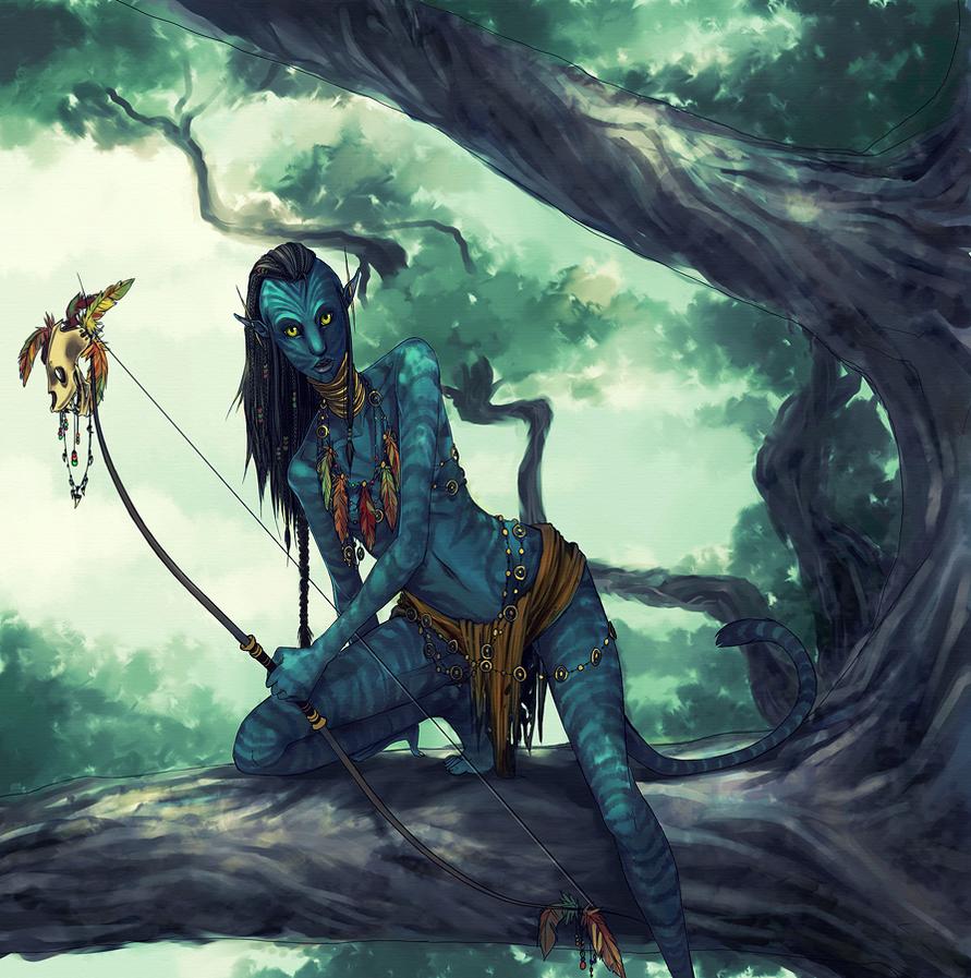 Navi Avatar: DERP NA'VI OC By Catastrophilia On DeviantArt