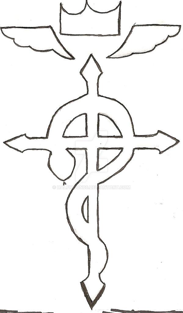Fullmetal Alchemist Symbol By Halfmoon66 On Deviantart