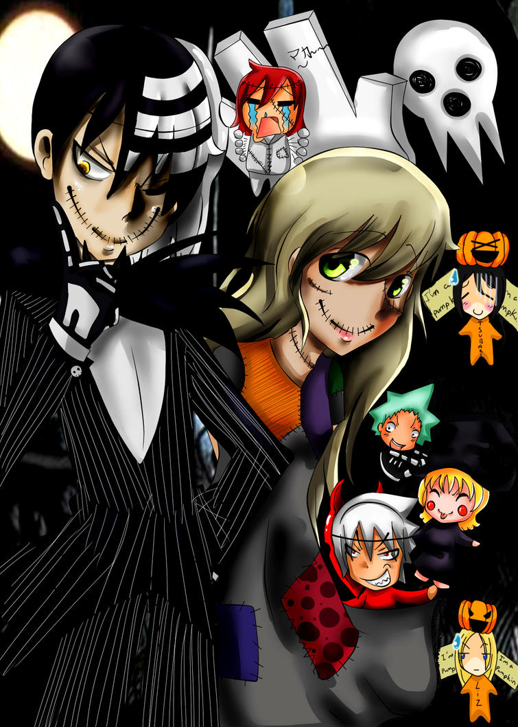 The nightmare before souleater by del hee cious on deviantart - This is halloween soul eater ...