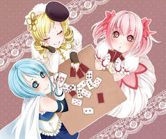 Poker match by Motoko-Su