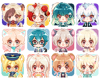 Pixel Commissions10 by Motoko-Su