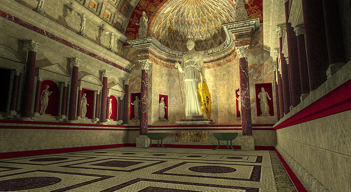 temple of venus and rome by andreep on deviantart