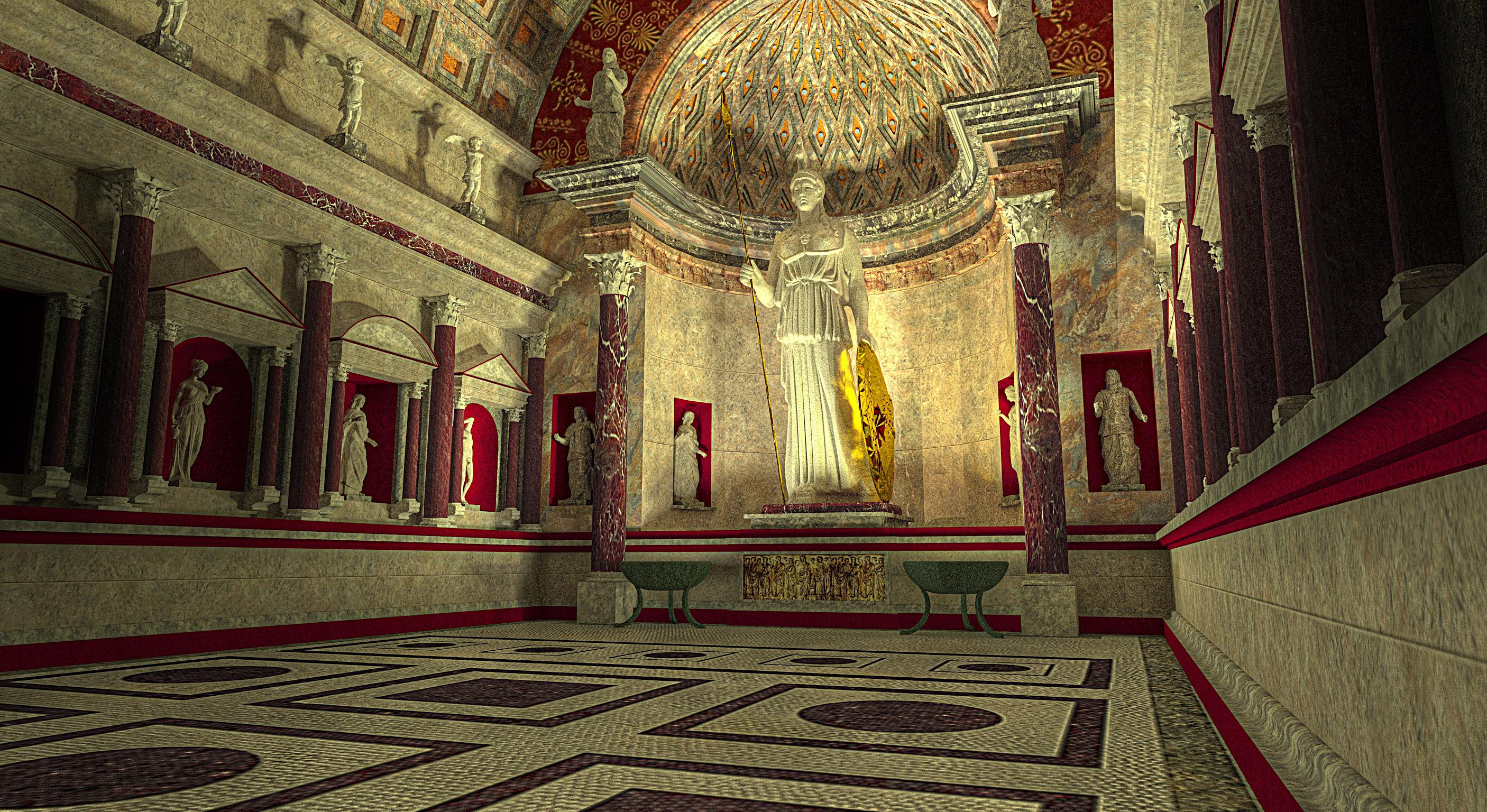 Резултат с изображение за Rome, Temple of Venus and Roma