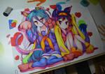 Shiro and Izuna