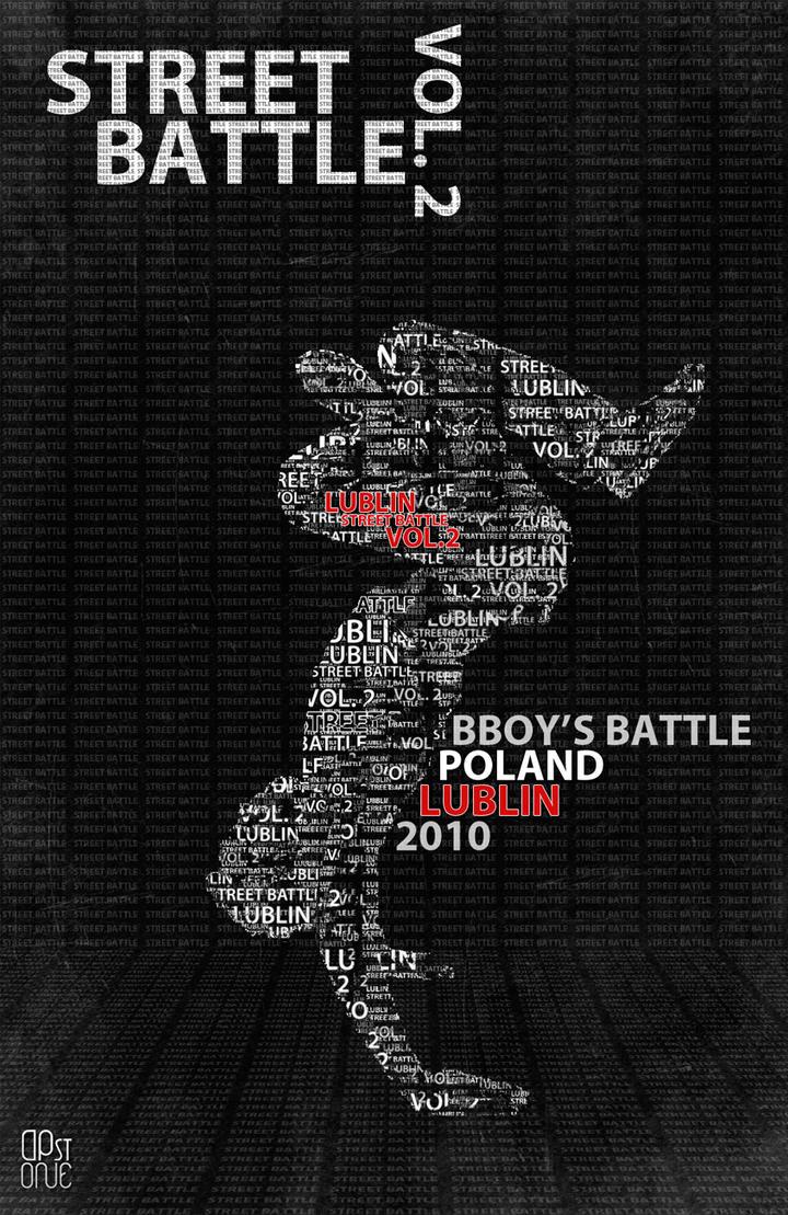 street battle vol.2 poster by davidpstone