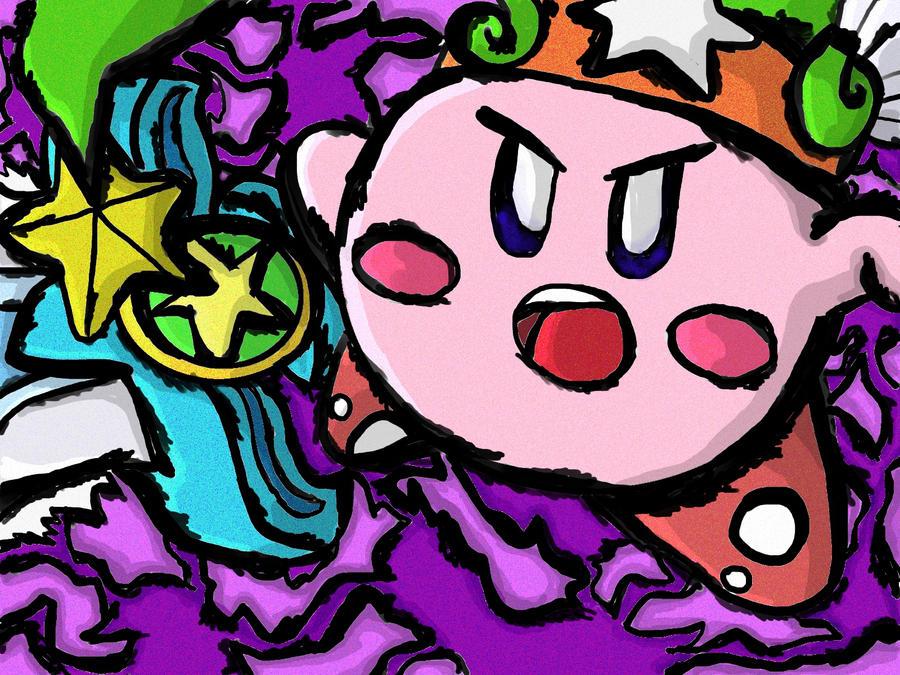Ultra Sword Kirby WW Style by KeyboardingChihuahua