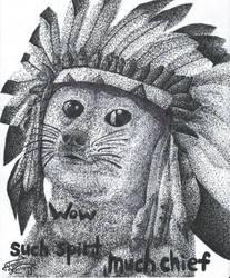 Such Spirit, Much Chief by KeyboardingChihuahua