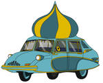 Onion Dome Car by UtilityVehicles