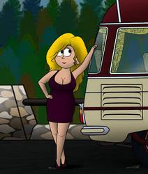 Bus blonde