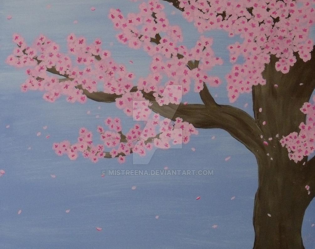 Cherry Blossoms by Mistreena