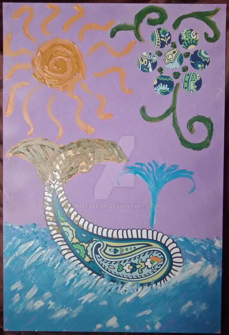 Blue Whale by Mistreena