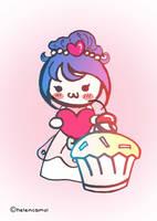 Princess Cup Cake by helencamui