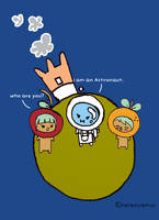 Astronaut by helencamui
