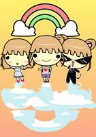 Rainbow Girls by helencamui