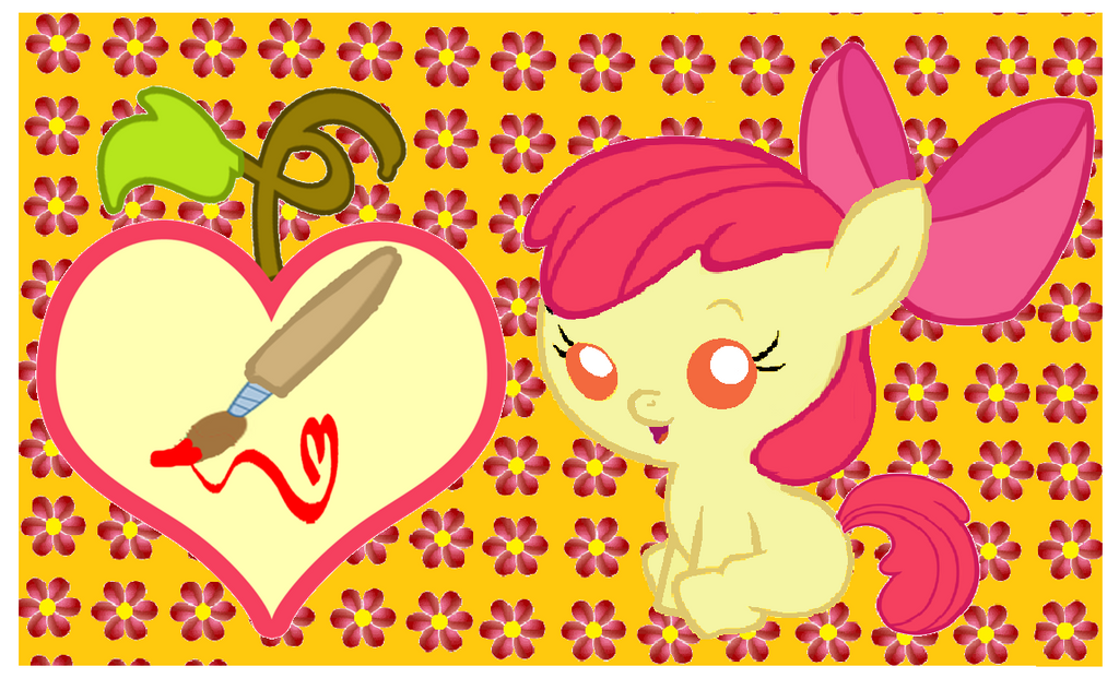 My Little Pony Friendship Is Magic Baby Apple Bloom My Little Pony Friends...