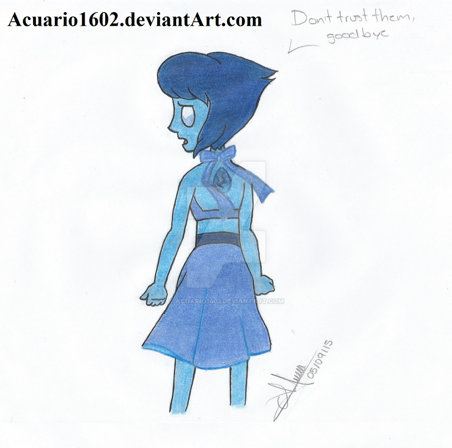 Don't trust them, goodbye. by Acuario1602