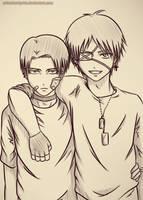 Riren doodle by OnizukaMiyako
