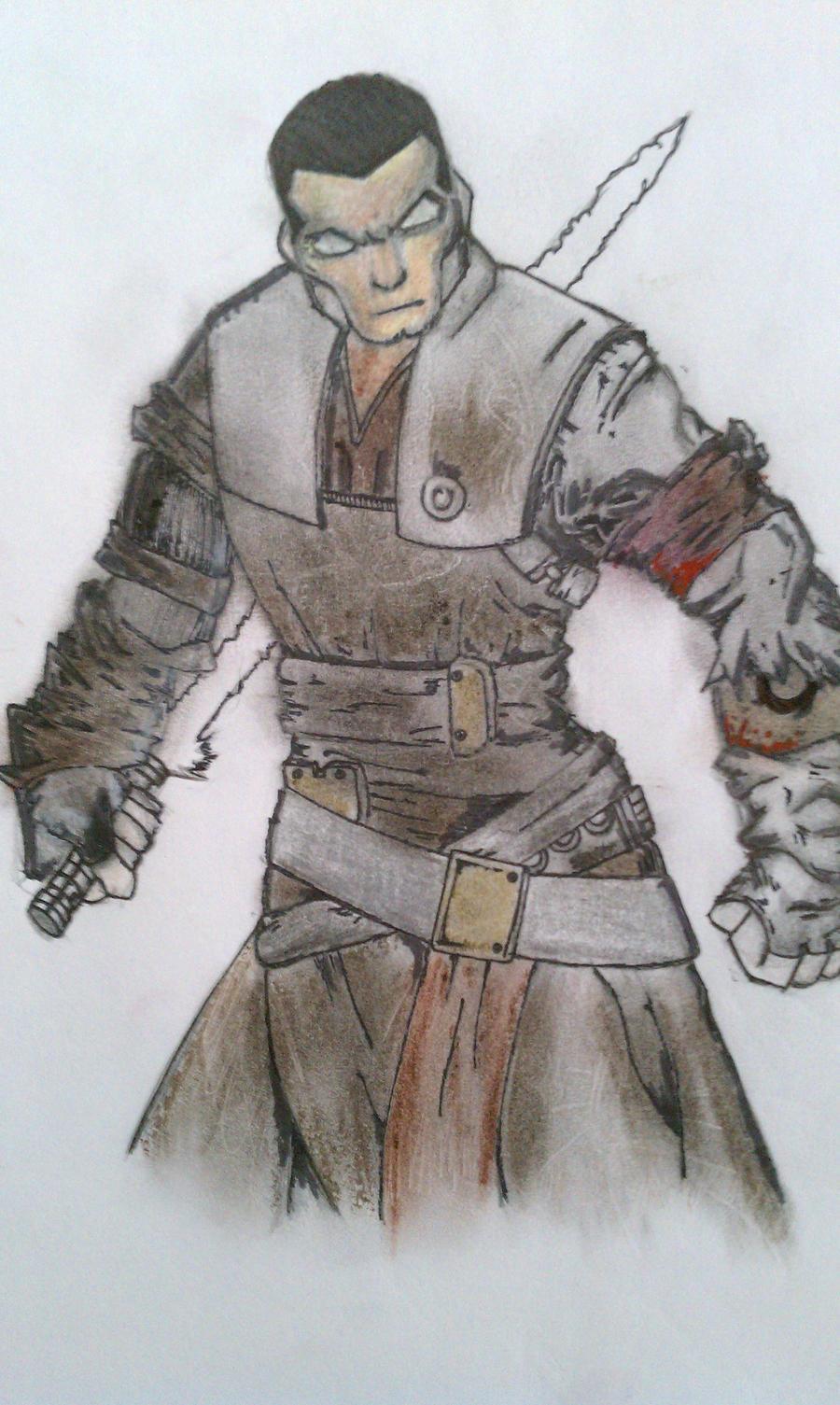 modern samurai by shasoysen