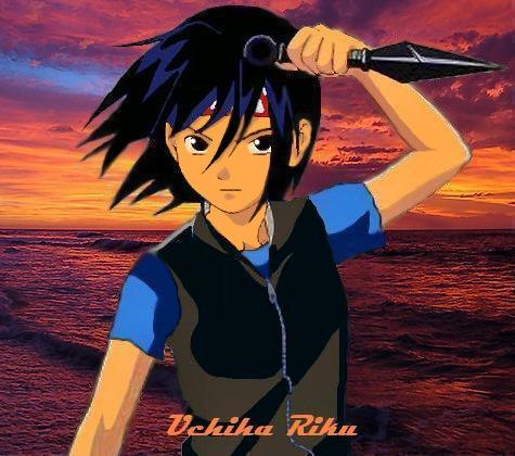 Uchiha no Riku by RoseAtomi