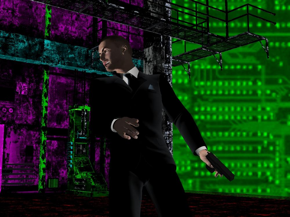 Cyber-noir05 by Peter-David
