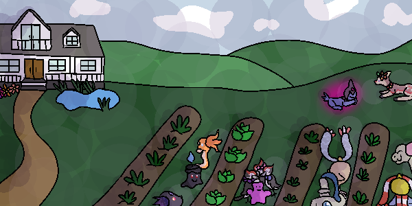 PKMNation - Canis Major Vegetable Garden by Amelie-The-Pixie