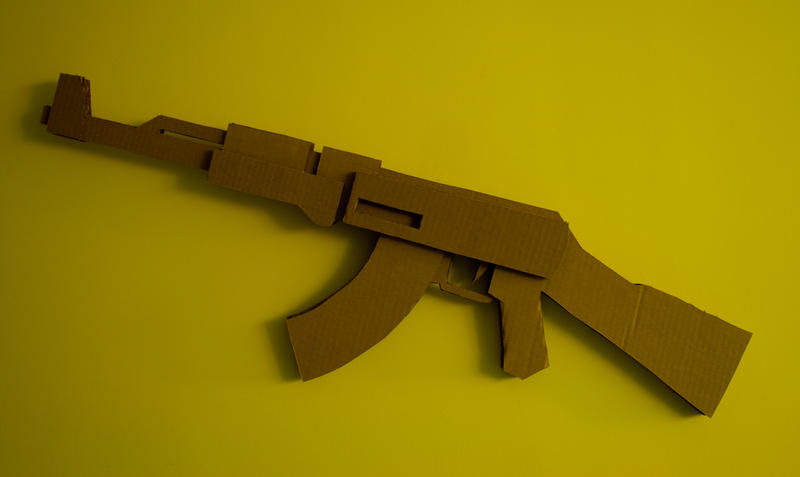 cardboard ak by captainmarsh
