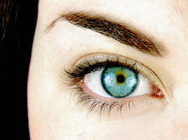 My eye by manicfairytale