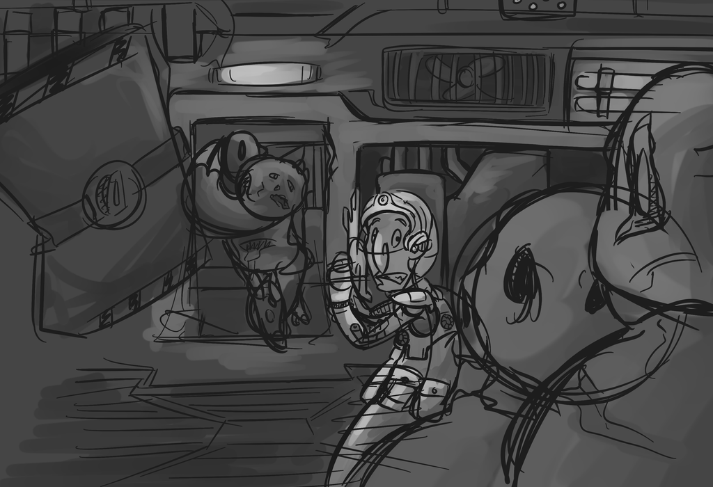 Space Thing Wip by Gaia10