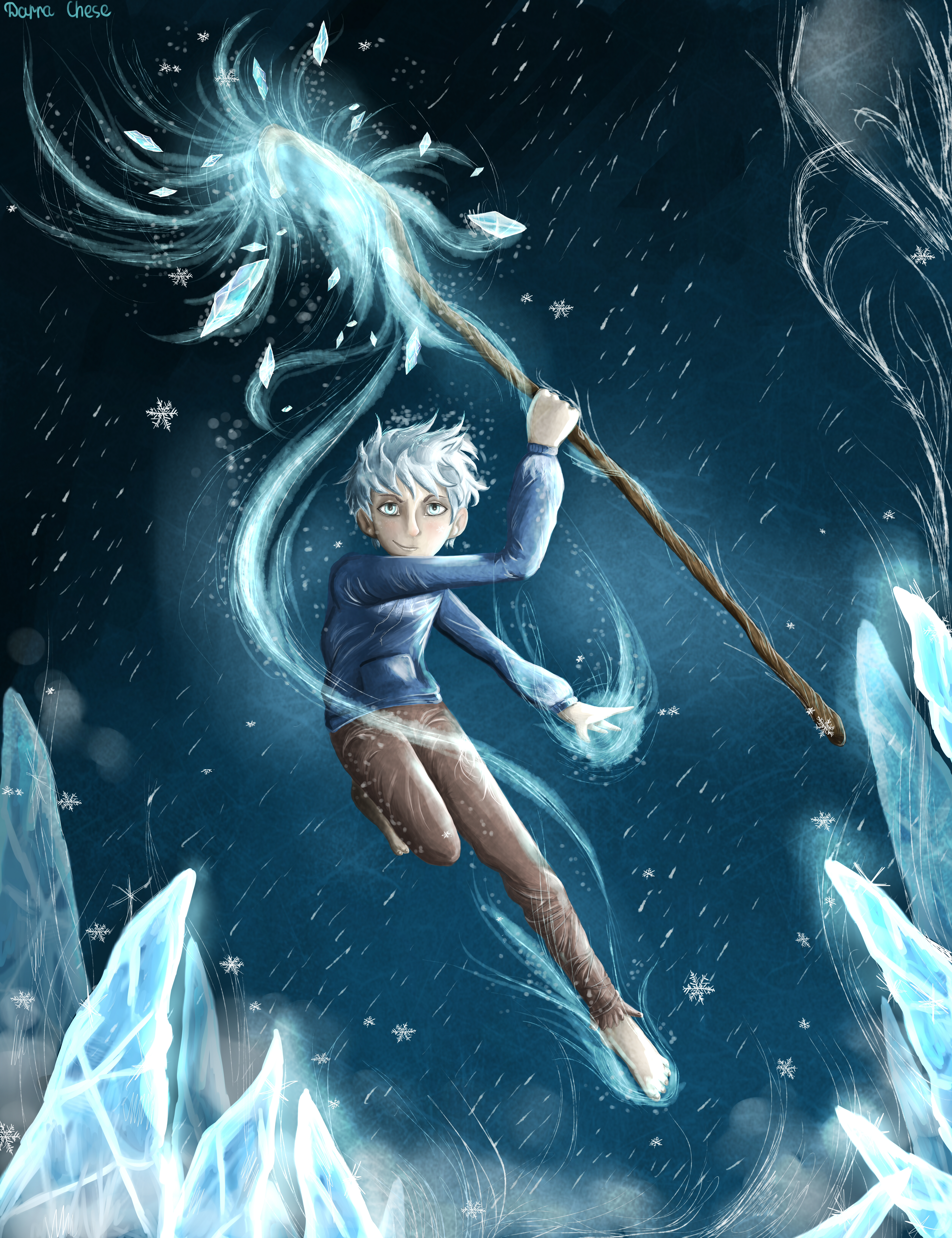 Jack Frost by DarraChese