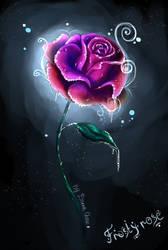 frosty Rose by DarraChese