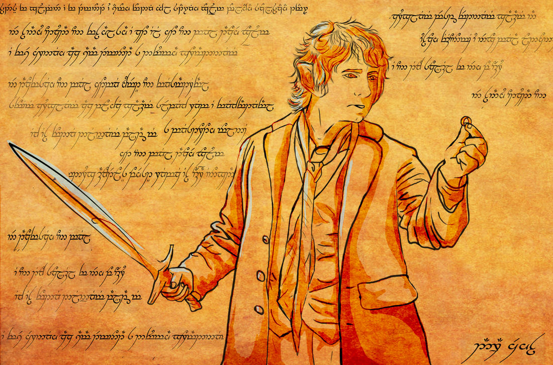 chronicle Bilbo Baggins by DarraChese