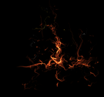 texture fire 44