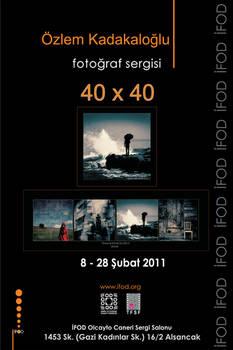40x40Fotograf Sergisi Izmir'de