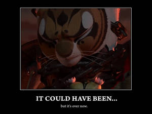 'It Could Have Been...' demotivational