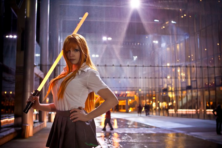Bleach: New weapon of choice by PookieBearCosplay