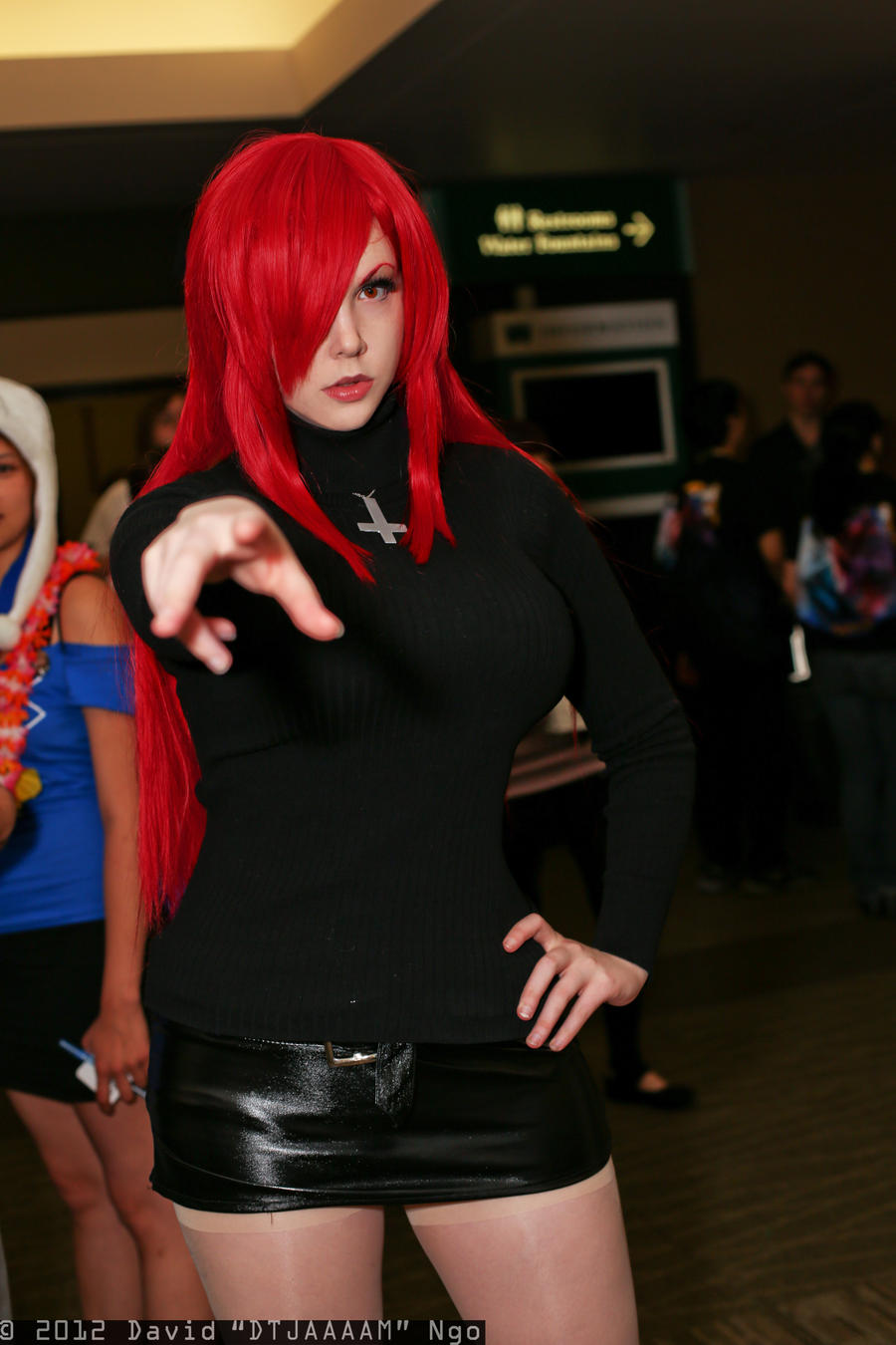 Skullgirls: Parasoul by PookieBearCosplay