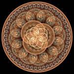Chocolate Mandala