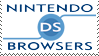 DS Browsers Stamp by Rednic