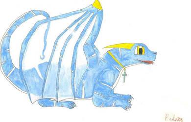 Allethaen el dragon by Rednic
