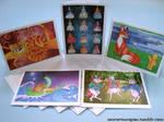 Fairy Tale Greeting Cards by unicornucopiae