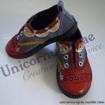 Pirate Ship-shape Shoes by unicornucopiae
