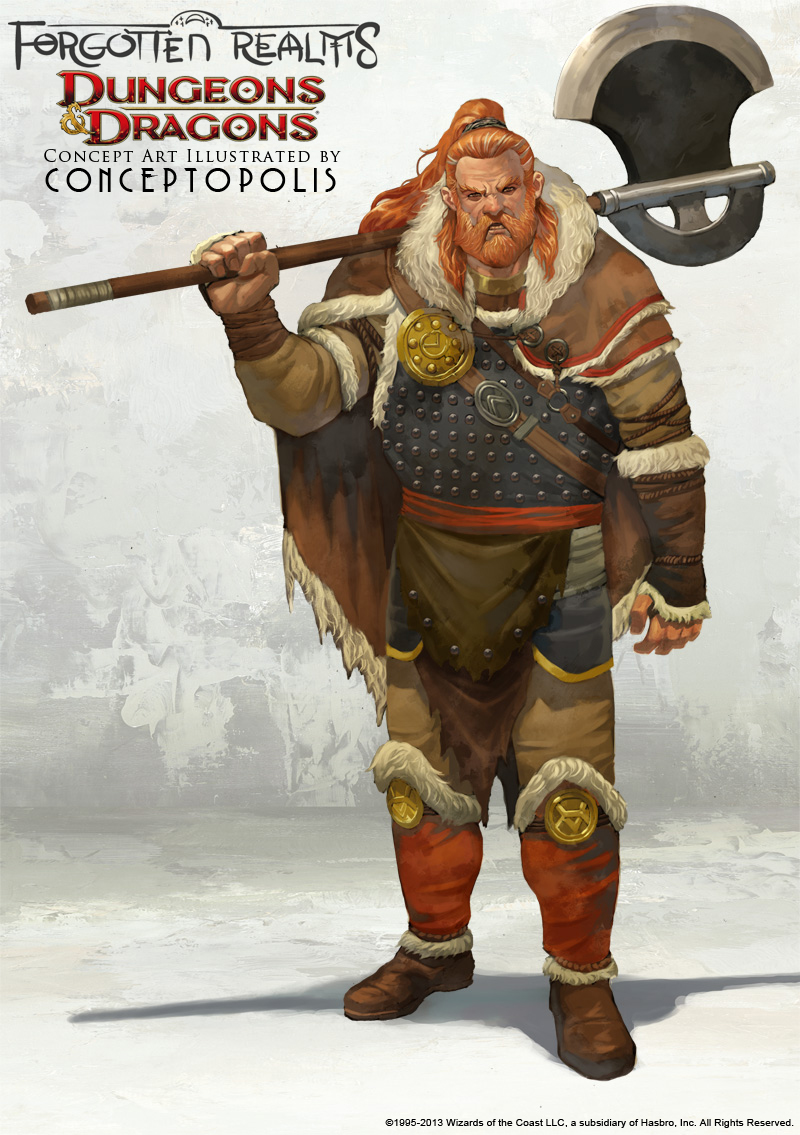 Northlander Barbarian by Conceptopolis