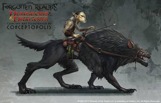 Dog Monster: Worg